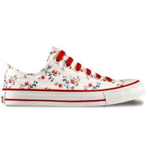 All Star de florzinhas
