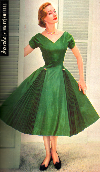 Modelo da Burda Moden - 1956