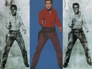 Triple Elvis - Andy Warhol