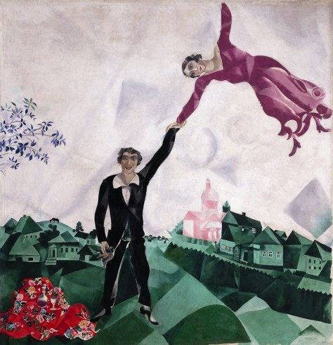 DerSpaziergang by Marc Chagall